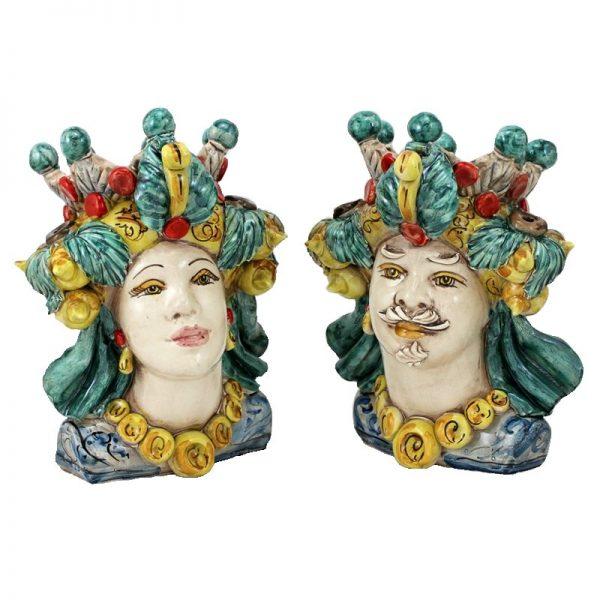 enoteca-il-barocco-coppia testa di moro colorata verus